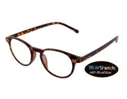 BLUESHIELDS Bildschirmbrille in runder Form