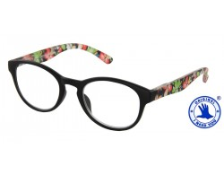 I NEED YOU  Lesebrille HAWAII schwarz-rot