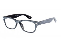 I NEED YOU Lesebrille WOODY Wood grau