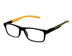 Lesebrille SPORTREADER schwarz orange