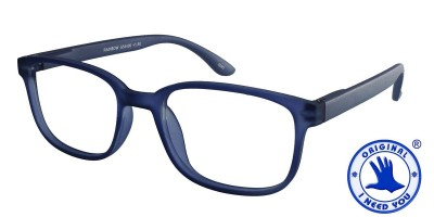 I NEED YOU Lesebrille RAINBOW blau