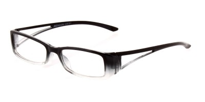 Lesebrille in Two-Tone Optik schwarz grau