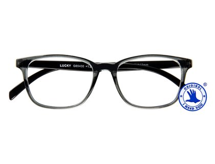I NEED YOU  Lesebrille LUCKY grau