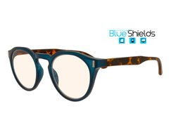 BLUESHIELDS Bildschirmbrille in Panto-Form