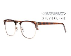 SilverLine Lesebrille THE CLUB Schildpatt Optik