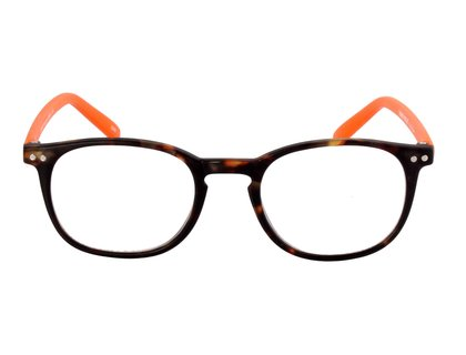 I NEED YOU Lesebrille JUNIOR demi orange
