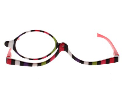 Schminkbrille fancy stripes