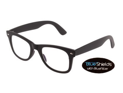 BLUESHIELDS Bildschirmbrille in eckiger Form