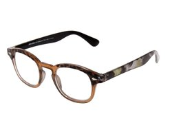 STRIKE EYEWEAR Lesebrille im Animal-Look braun