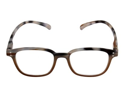 KLAMMERAFFE Lesebrille in Horn Optik